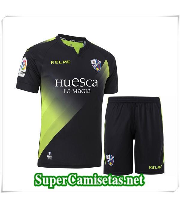 Tailandia Tercera Equipacion Camiseta SD Huesca Niños 2018/19