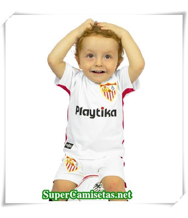 Primera Equipacion Camiseta Sevilla Niños 2018/19
