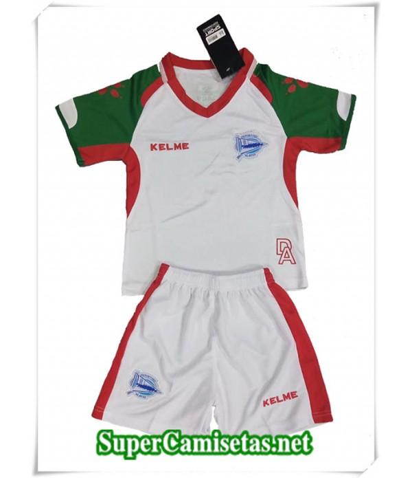 Tailandia Tercera Equipacion Camiseta Alaves Niños  2018/19