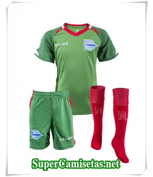 Tailandia Segunda Equipacion Camiseta Alaves Niños 2018/19