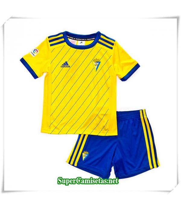 Primera Equipacion Camiseta Cadiz CF Niños 2018/19