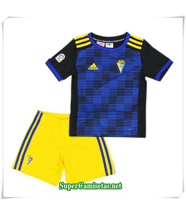 Segunda Equipacion Camiseta Cadiz CF Niños 2018/19