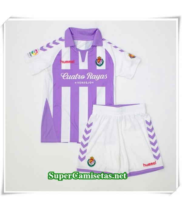Primera Equipacion Camiseta Real Valladolid Niños 2018/19
