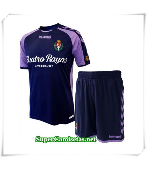 Segunda Equipacion Camiseta Real Valladolid Niños 2018/19