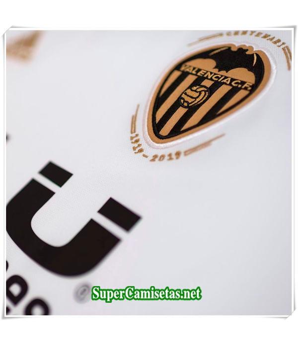 Primera Equipacion Camiseta Valencia Ninos 2018/19