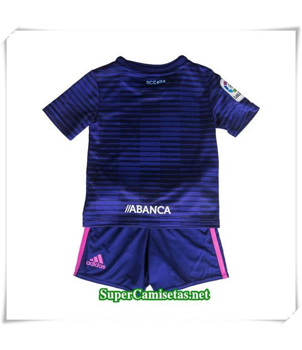 Tailandia Segunda Equipacion Camiseta Celta de Vigo Niños  2018/19