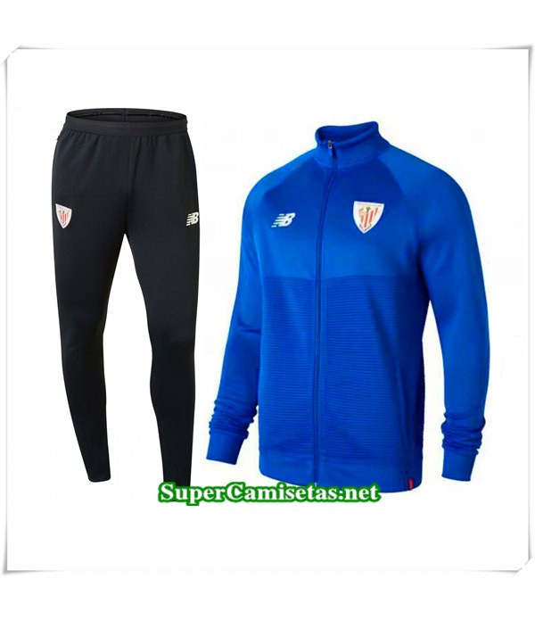 Chandal Athletic de Bilbao Azul 2018 2019 baratas
