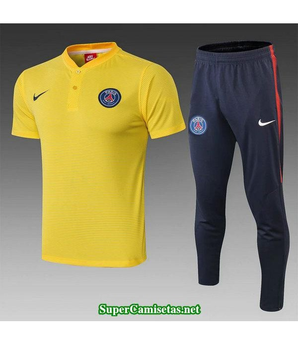 camiseta polo psg amarillo 2019/20