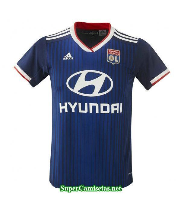 segunda equipacion camiseta lyon 2019/20