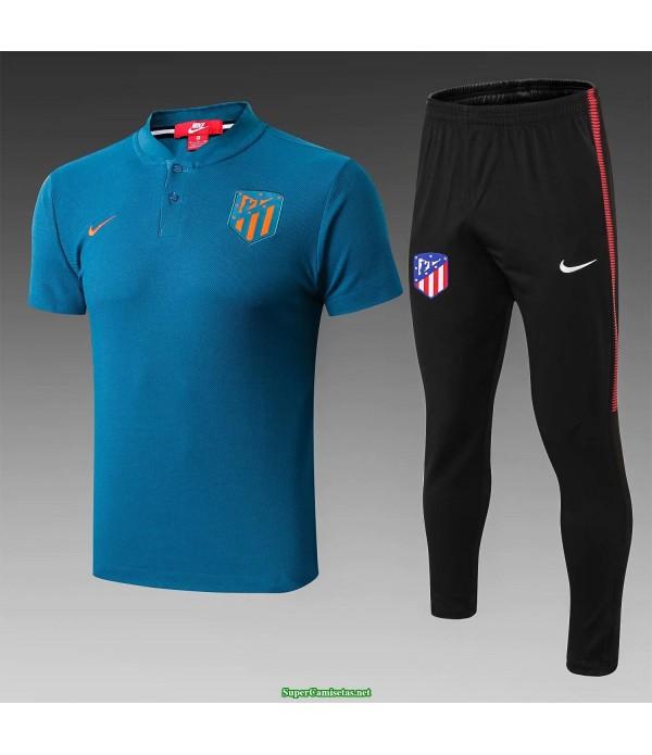 camiseta polo atletico de madrid azul 2019/20