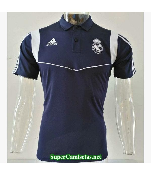 camiseta polo real madrid azul oscuro 2019/20