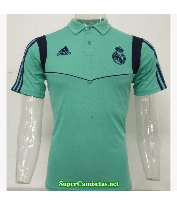 camiseta polo real madrid verde 2019/20