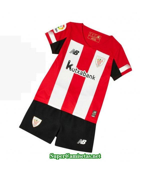primera equipacion camiseta athletic de bilbao ninos 2019/20