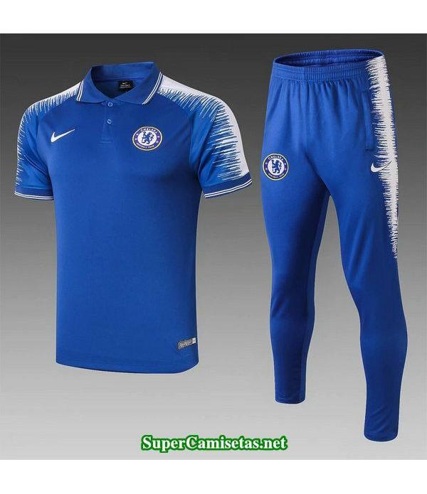 camiseta polo chelsea azul 2019/20