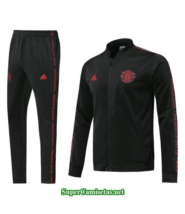 chaquetas manchester united negro 2019/20 baratas