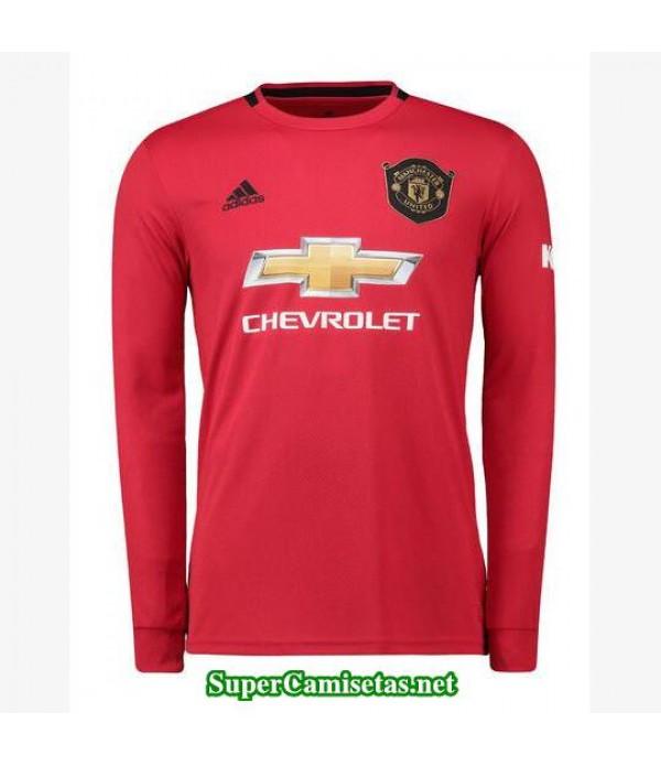primera equipacion camiseta manchester united manga larga 2019/20