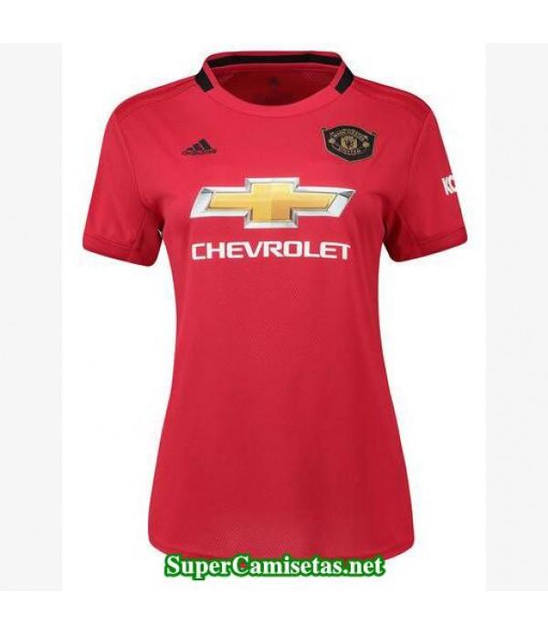 primera equipacion camiseta manchester united mujer 2019/20