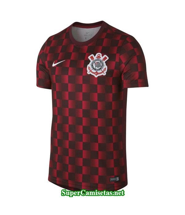 camiseta entrenamiento corinthians rojo 2019/20