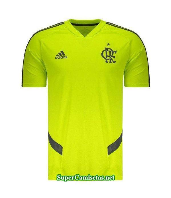 camiseta entrenamiento flamengo verde 2019/20
