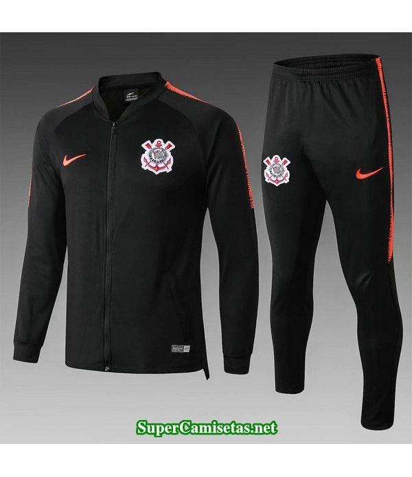 chaquetas corinthians negro 2019/20 baratas