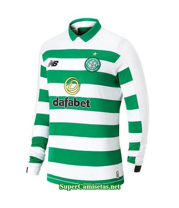 primera equipacion camiseta celtic manga larga 2019/20