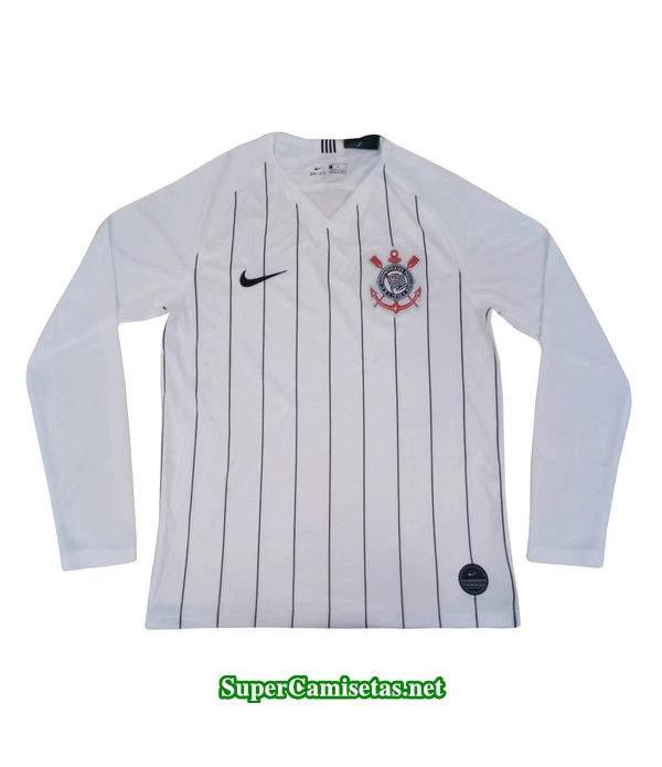 primera equipacion camiseta corinthians manga larga 2019/20