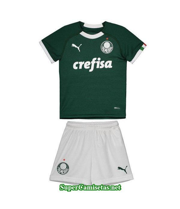 primera equipacion camiseta palmeiras ninos 2019/20