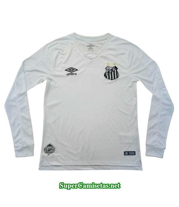 primera equipacion camiseta santos fc manga larga 2019/20