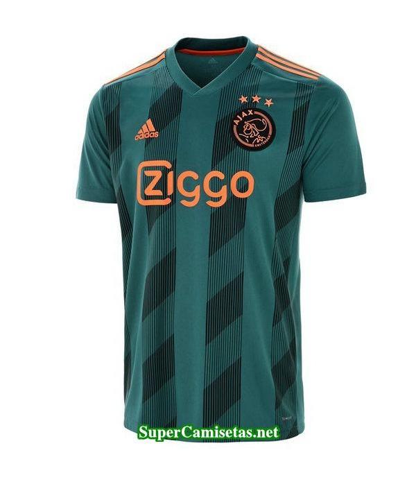 segunda equipacion camiseta ajax 2019/20