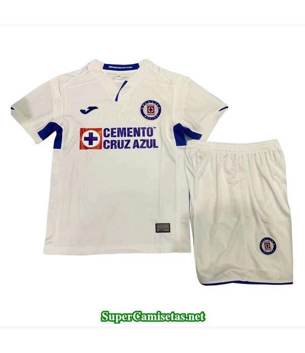 segunda equipacion camiseta cruz azul ninos 2019/20