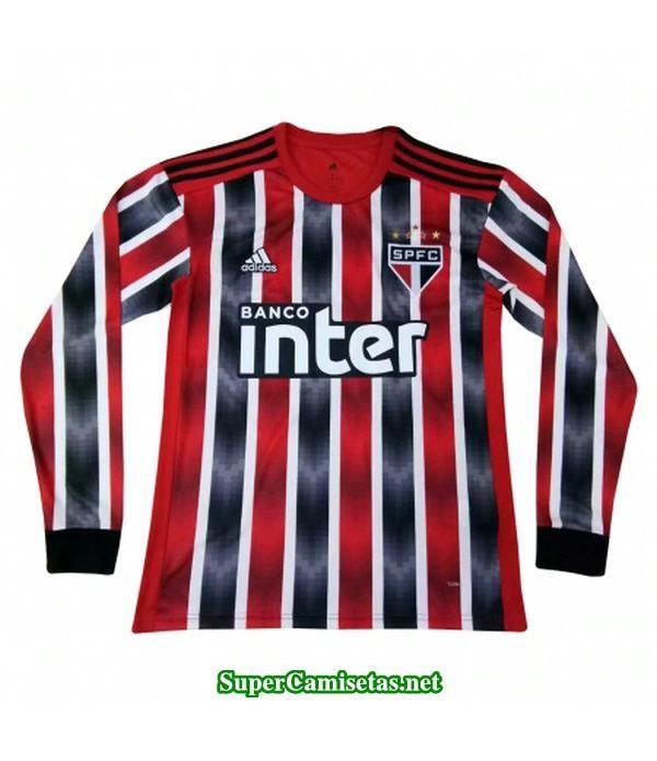 segunda equipacion camiseta sao paulo manga larga 2019/20