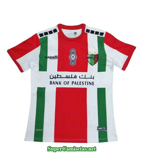 tailandia segunda equipacion camiseta palestino 2019/20
