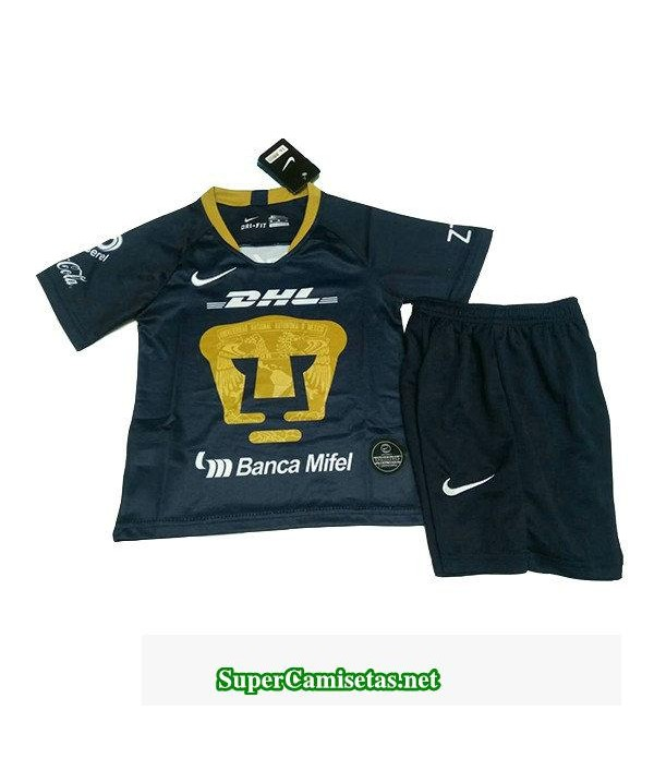 tercera equipacion camiseta pumas ninos 2019/20