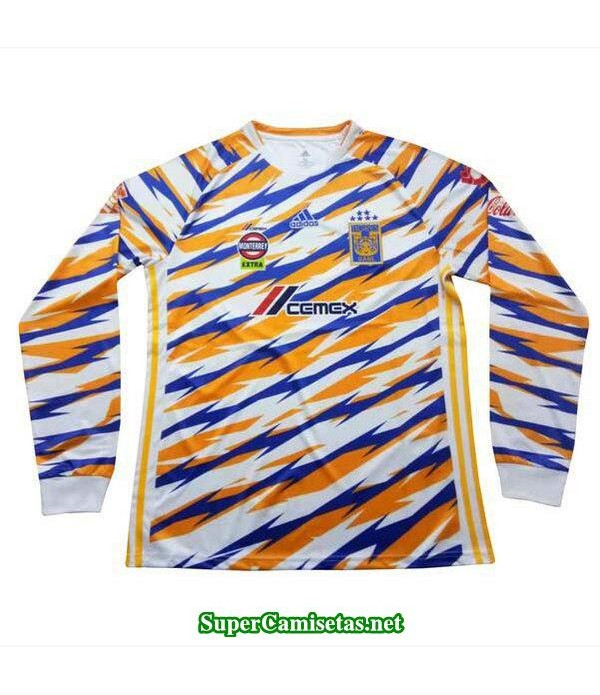 tercera equipacion camiseta tigres uanl manga larga 2019/20