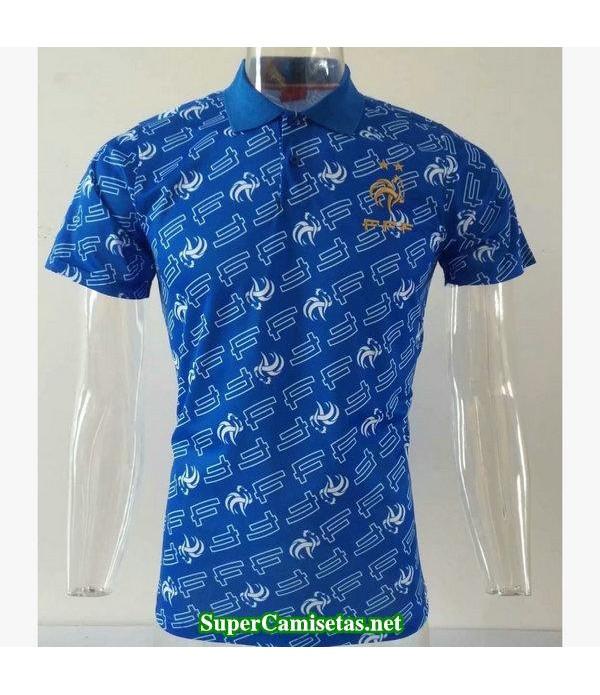 camiseta polo francia azul 2019/20
