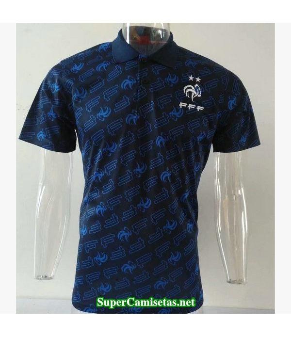 camiseta polo francia azul oscuro 2019/20