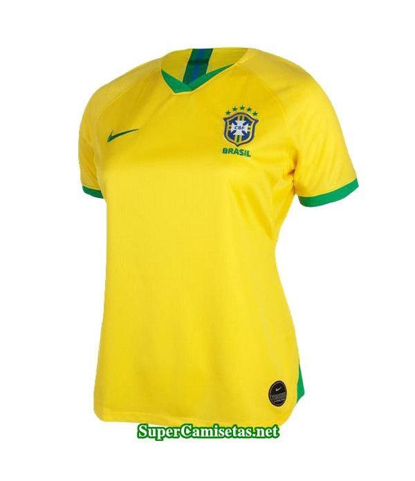 primera equipacion camiseta brasil mujer copa mundial 2019