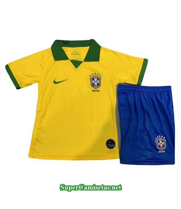 primera equipacion camiseta brasil ninos 2019/20