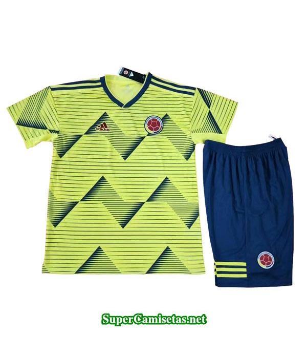primera equipacion camiseta colombia ninos 2019/20