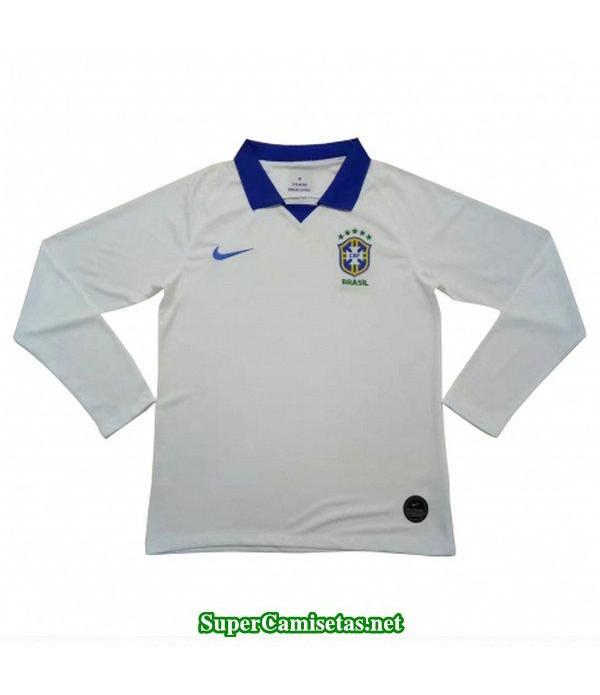 segunda equipacion camiseta brasil ml 2019/20
