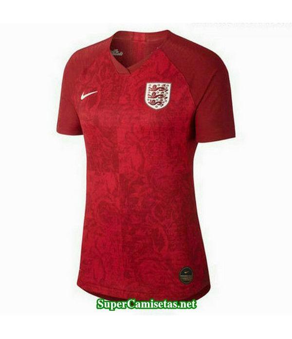 segunda equipacion camiseta inglaterra mujer copa mundial 2019