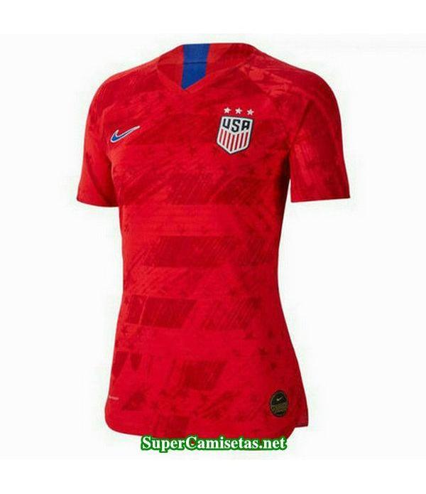 segunda equipacion camiseta usa mujer copa mundial 2019