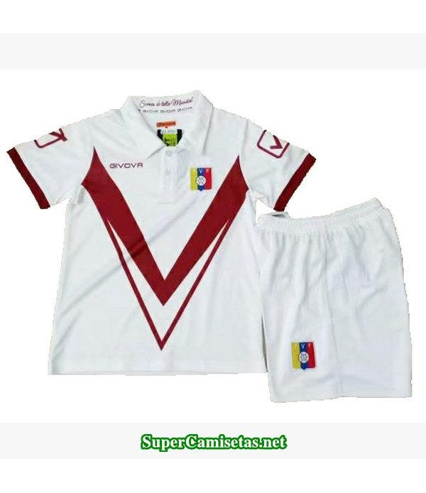 segunda equipacion camiseta venezuela ninos 2019/20