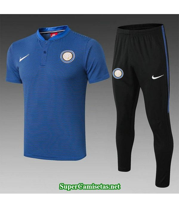 camiseta polo inter milan azul 2019/20