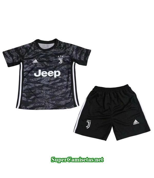 portero equipacion camiseta juventus ninos 2019/20