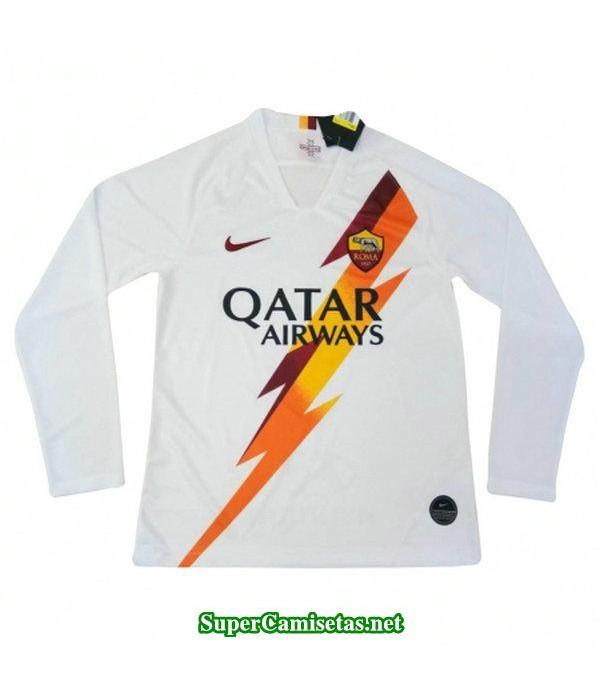 segunda equipacion camiseta as roma manga larga 2019/20