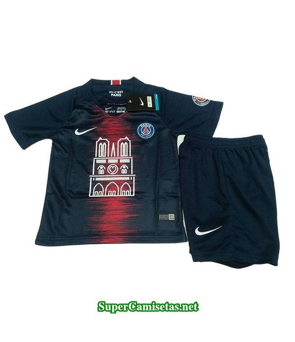 primera equipacion camiseta psg ninos 2019/20