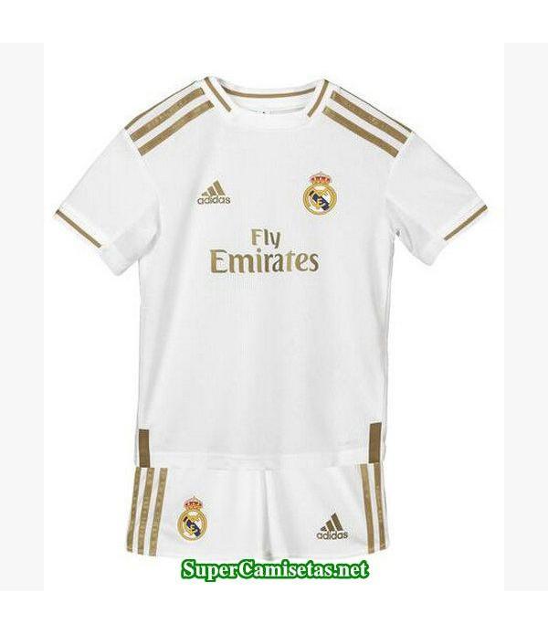 primera equipacion camiseta real madrid ninos 2019/20