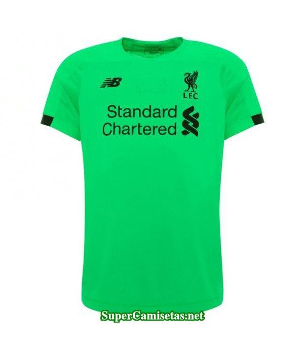 portero equipacion camiseta liverpool verde 2019/2...