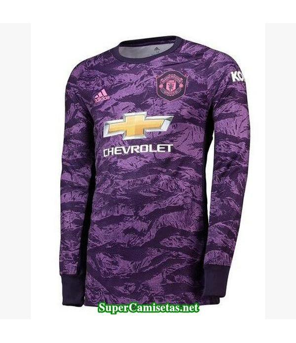 portero equipacion camiseta manchester united manga larga 2019/20